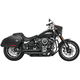 Black Amendment Slash-Out Exhaust System - HD00738