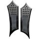 Black Instigator Drilled Extended Driver Floorboards - FBF01-DIB