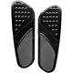 Black Vintage Drilled Extended Driver Floorboards - FBF01-DVB