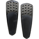 Black Extended Teardrop Driver Floorboards - FBF91-KDTB