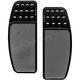 Black Drilled Original Driver Floorboards - FBF91-DOB