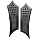 Black Extended Instigator Driver Floorboards - FBF91-DIB