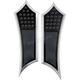 Night Series Extended Instigator Driver Floorboards - FBF91-DIN