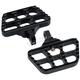 Black  Mini Serrated Passenger Floorboards - 08-644-7B