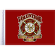 6 in. x 9 in. Fire Department Flag - FLG-VFD