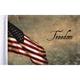 10 in. x 15 in. Freedom Flag  - FLG-FRDM15