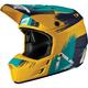 Gold/Teal GPX 3.5 V19.1 Helmet