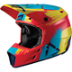 Youth Junior Red/Lime GPX 3.5 Helmet