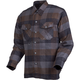 Black/Brown/Grey Covert Flannel Shirt