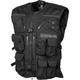 Black Covert Tactical Vest