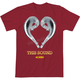 Red Love This Sound 2 T-Shirt