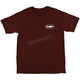 Men's Dark Red Mellow Heather T-Shirt