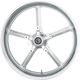 Chrome 21 in. x 3.75 in. Rockstar Forged Aluminum Front Wheel for ABS - 2502-ROC-233-CH