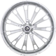 Chrome Rear 16 in. x 5.5 in. Fuel Forged Aluminum Wheel for ABS - 4502-FUL-165-CH