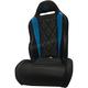 Black/Titanium Blue Diamond Stitch Performance Seat - PEBUTBBBC