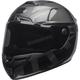 Matte/Gloss Black/Gray SRT Predator Blackout Helmet