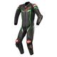 Black/Bright Green GP Pro V3 Leather Suit Tech Air Compatible