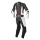 Black/White/Red Stella Missile Leather Suit Tech-Air Compatible
