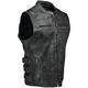 Black Tough as Nails Vest