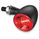 Satin Black Rear Run/Turn/Brake Bullet 1000 RB Light w/Red Lens - 2863