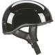 Gloss Black .357 Helmet