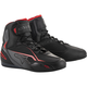Black/Gray/Red Faster-3 Riding Shoe