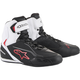Black/White/Red Faster-3 Riding Shoe