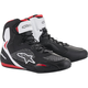 Black/White/Red Faster-3 Drystar Riding Shoe