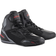 Black/Gray/Red Faster-3 Drystar Riding Shoes