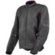 Women's Charcoal/Black/Pink Contour Air Jacket