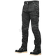 Black Call To Arms Moto Pants with 34 Inch Inseam