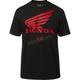 Black Honda SS Basic T-Shirt