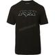 Black/Blue Dual Head Basic T-Shirt