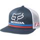 Navy Honda Snapback Hat - 22996-007-OS