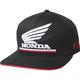 Black Honda FlexFit Hat