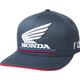 Navy Honda FlexFit Hat