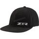 Black Flat Bill Hat - 2501-3118
