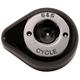 Gloss Black Stealth Teardrop Air Cleaner Cover - 170-0531