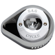 Chrome Stealth Slasher Teardrop Air Cleaner Cover - 170-0532