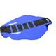 Black/Blue Zebra Seat Cover - 1237Z