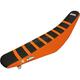 Black/Orange Zebra Seat Cover - 1521Z
