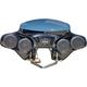Black 4-Speaker Batwing Fairing - RKING525