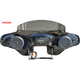 Black 2-Speaker Batwing Fairing - RKING65
