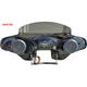 Black 2-Speaker Batwing Fairing - HSOFT65