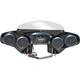Black 4-Speaker Batwing Fairing - SOFTDLX525