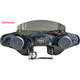 Black 2-Speaker Batwing Fairing - SOFTDLX65