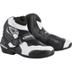 Black/White S-MX 1R Vented Boots