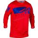 Red/Blue Kinetic Mesh Shield Jersey