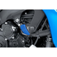Blue Rubber Covers for  R12 Frame Sliders - 6378A
