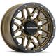 Black/Bronze Raceline A94 Krank Simulated Beadlock 14x7 Wheel - A94BZ-47037+10